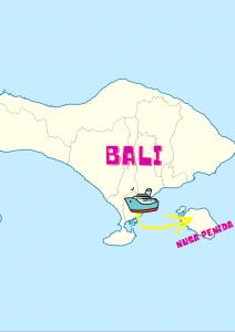 Nusa penida from bali